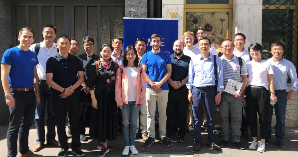 Besuch aus Huzhou – LIME knüpft Kontakte nach China