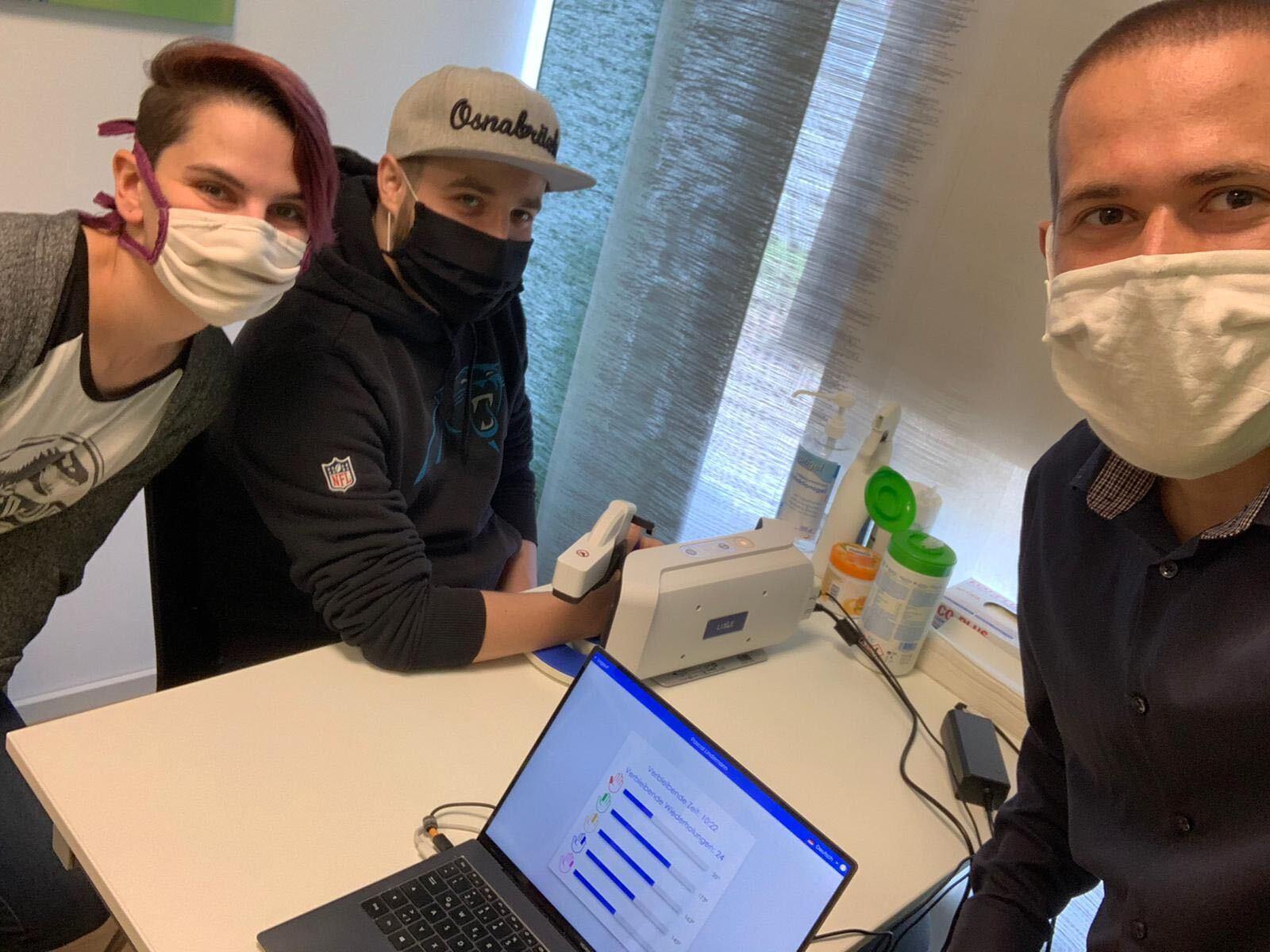 Der nächste Meilenstein: Erste Patienten trainieren mit der AnyHand