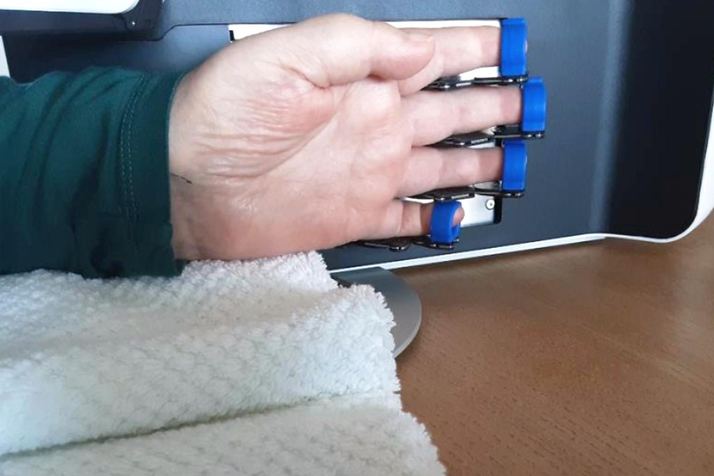 Das Training mit der AnyHand im Home Use